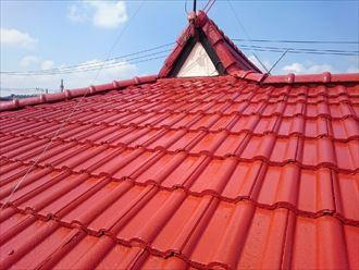 佐倉市 モニエル瓦の屋根塗装工事012_R