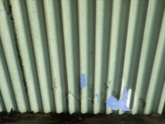木更津市 風災による雨樋007_R