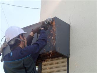 木更津市 シャッターボックスの補修工事009_R