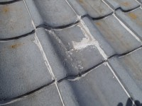 雨漏り補修 屋根部分葺き直し