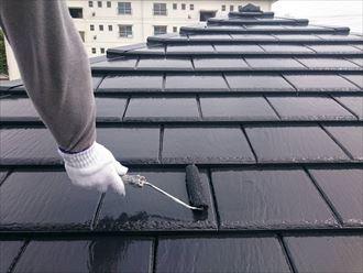 市原市 セメント瓦 屋根塗装工事002_R