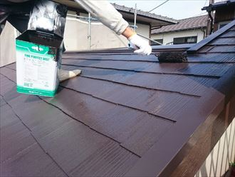 木更津市 屋根塗装 コロニアル018_R