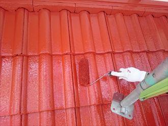 佐倉市 モニエル瓦の屋根塗装工事013_R