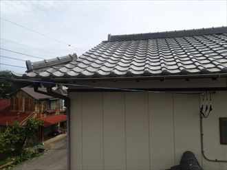 君津市大井戸の屋根調査に伺いました