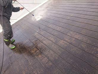木更津市 屋根・外壁塗装 洗浄002_R