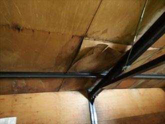 千葉市 倉庫屋根の雨漏り調査012_R