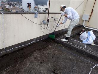 鴨川市 ビルの漏水 防水工事004_R