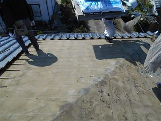 茂原市 瓦の葺き直し工事002_R