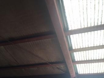 佐倉市 トタン屋根 明かり取り 雨漏り