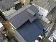 屋根塗装工事の完了となります
