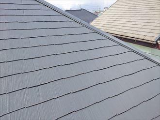 市原市 雨漏り上部の屋根の状況