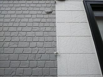 木更津市 竪樋の損傷