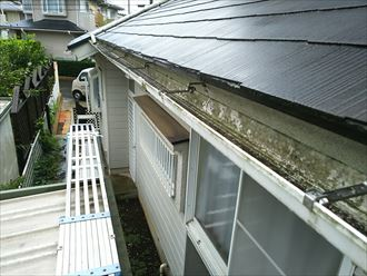 木更津市の雨樋排水不良改善交換工事の実施