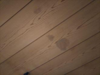 富津市の雨漏り調査漆喰の詰め過ぎが原因