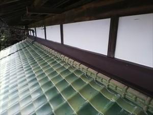 木更津市 雨押え工事後