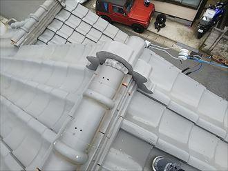 木更津市 漆喰の劣化
