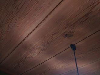 富津市 雨漏りによるカビの発生