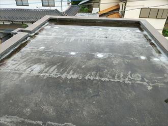 木更津市 陸屋根の状況調査
