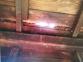 木更津市の雨漏り、屋根材の腐食が原因