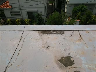 木更津市 雨漏り箇所上部の状態