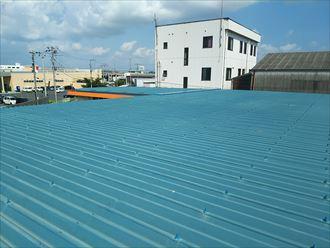 木更津市 折板屋根の状況