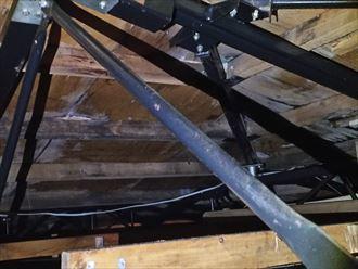 木更津市 屋根裏の状態