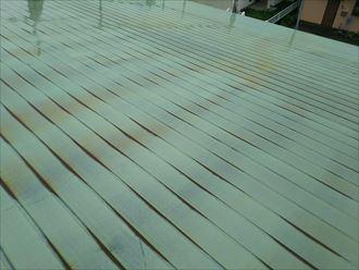 君津市 金属屋根材の状況