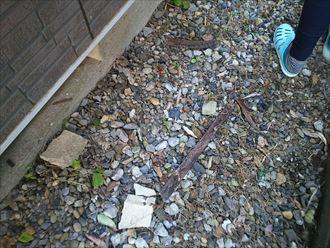 出窓木部の腐食、原因は外壁からの雨水の浸水|袖ケ浦市