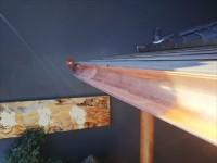 銅製雨樋交換工事前