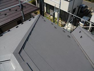 市原市 屋根カバー工事完了