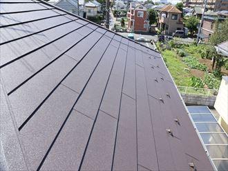 ガルバリウム屋根材での葺き替え