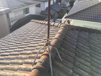 市原市西広にて築25年のセメント瓦(ヨーロピアン)へ屋根塗装と屋根葺き替え、2つのプランをご提案