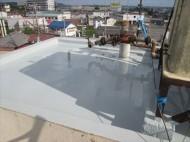 ウレタン塗膜防水,鴨川市,完了
