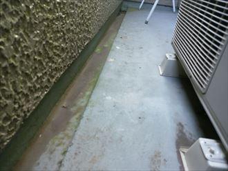 君津市 防水塗膜の傷み