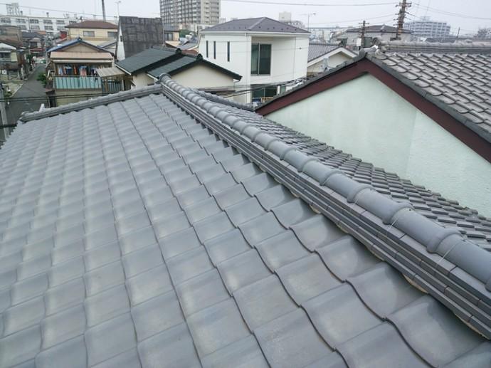綺麗な瓦の屋根