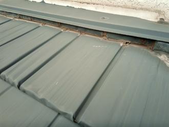 金属屋根の雨押え