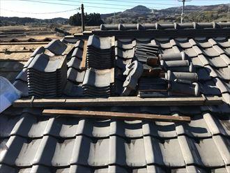 瓦,屋根,葺き直し
