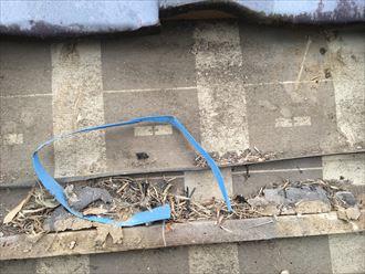 防水紙,雨漏り
