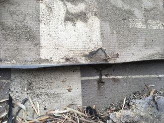 雨漏り,防水紙,ルーフィング