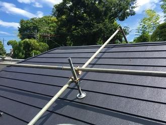 市原市姉崎にて自然災害に強い金属屋根、スーパーガルテクトを使用した屋根カバー工事アフター