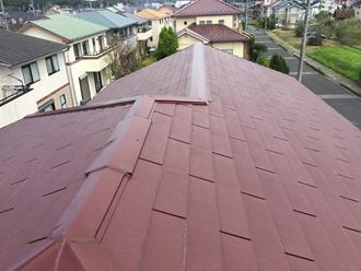 スレート屋根の台風調査