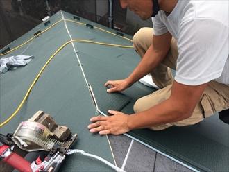 屋根カバー工法で金属屋根へ