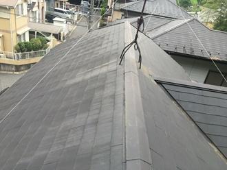 スレート屋根の現地調査実施