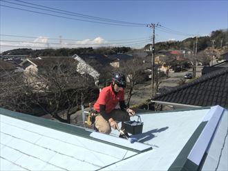 塗装,屋根