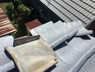 ケラバの捲れ調査、雨漏り箇所