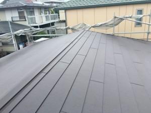 屋根カバー工事後