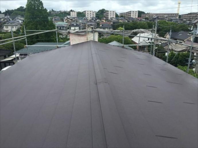 屋根カバー工事竣工