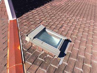 屋根の勾配が無い状態