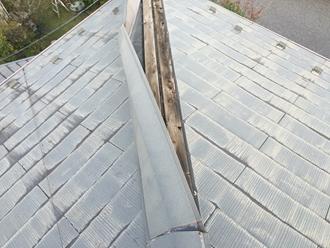 棟板金の強風被害