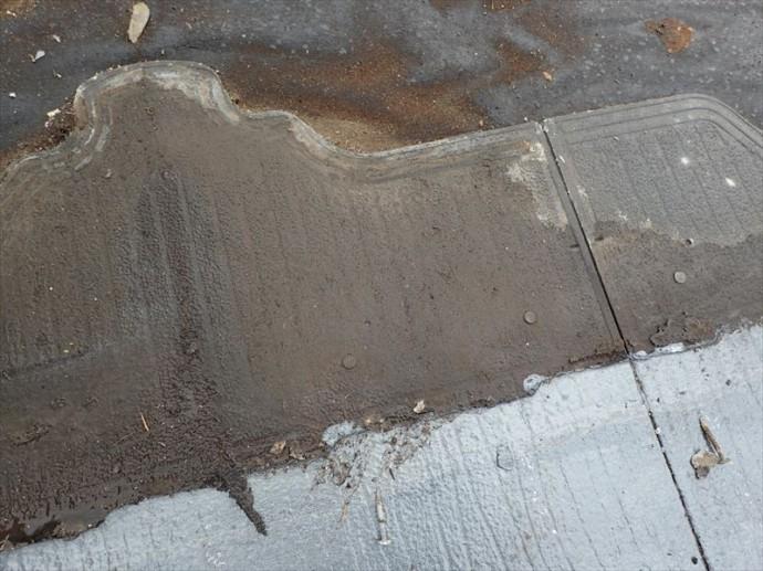 君津市 毛細管現象による雨漏り